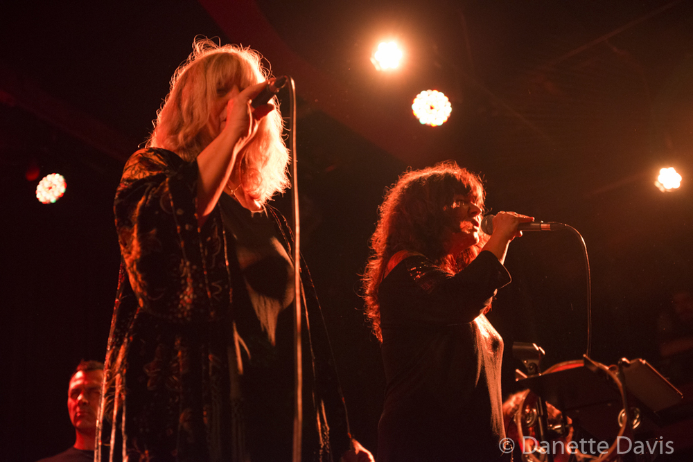 L-R: Philippe Bussonnet, Stella Vander, and Isabelle Feuillebois, Magma,  2016 , at The Crocodile