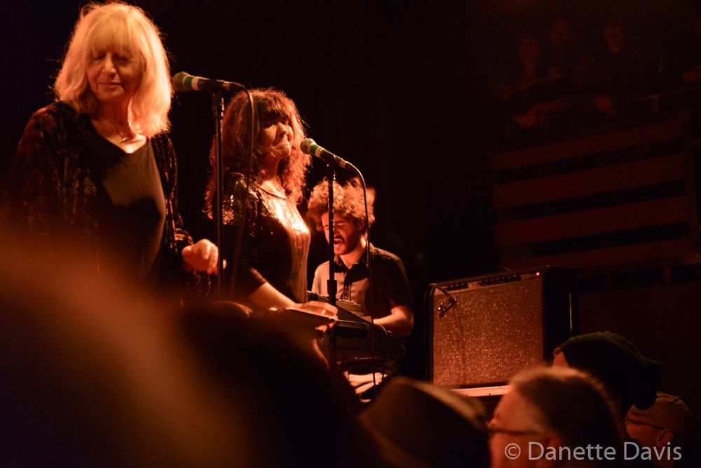 L-R: Stella Vander, Isabelle Feuillebois, and Jérémie Ternoy, Magma,  2016 , at The Crocodile