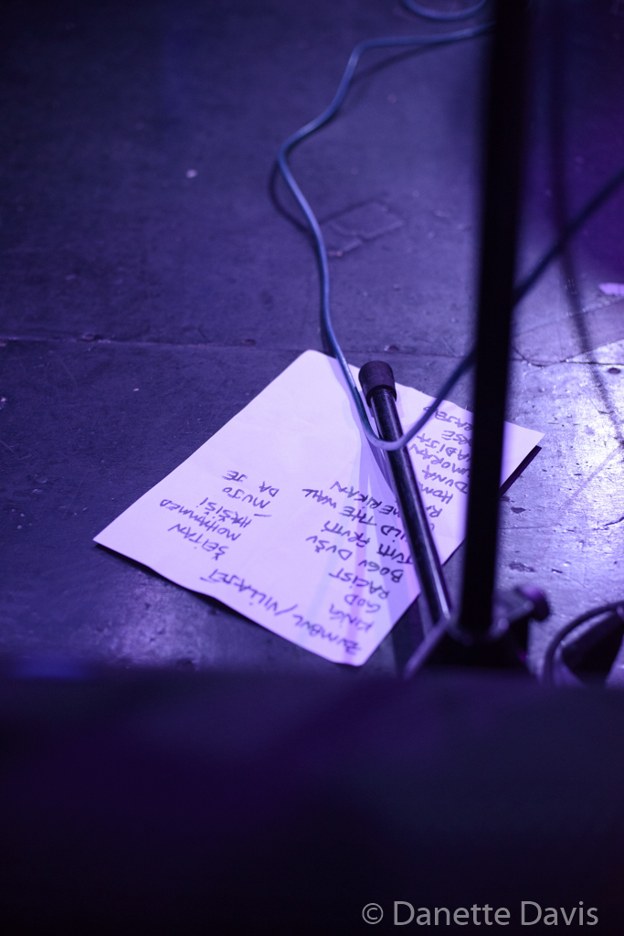 The End: Set List, Kultur Shock,  2016 , at Chop Suey