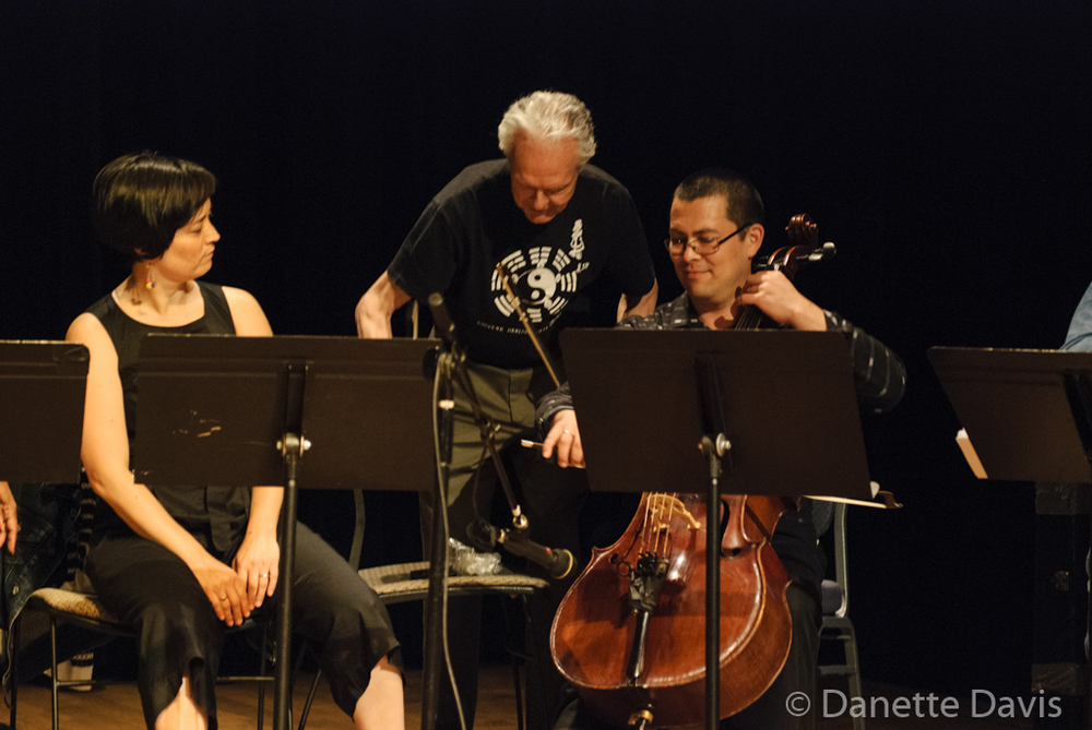 L-R:  Margaret Sunghe Paek, Stuart Dempster, and, Loren Kiyoshi Dempster,  2016 , at The Chapel