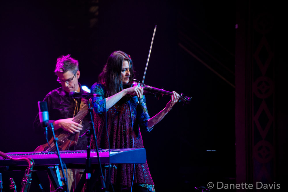 L-R: Kevin Millard and Alicia Dejoie, Moraine, Seattle, Triple Door, 2019