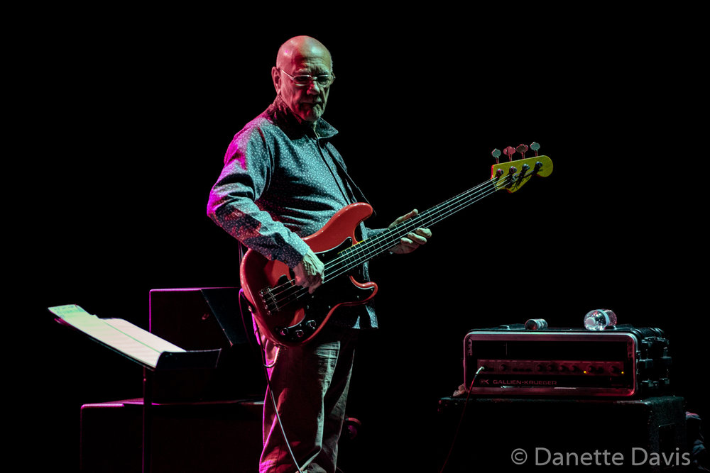 Roy Babbington, Soft Machine, Triple Door, Seattle, 2019
