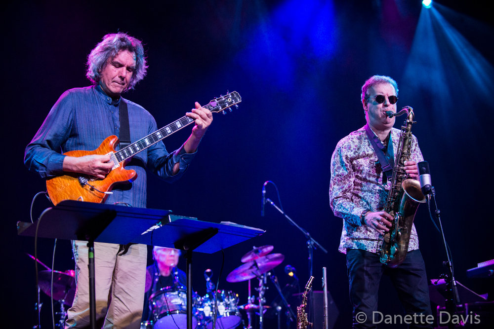 L-R: John Etheridge and Theo Travis, Soft Machine, Triple Door, Seattle, 2019