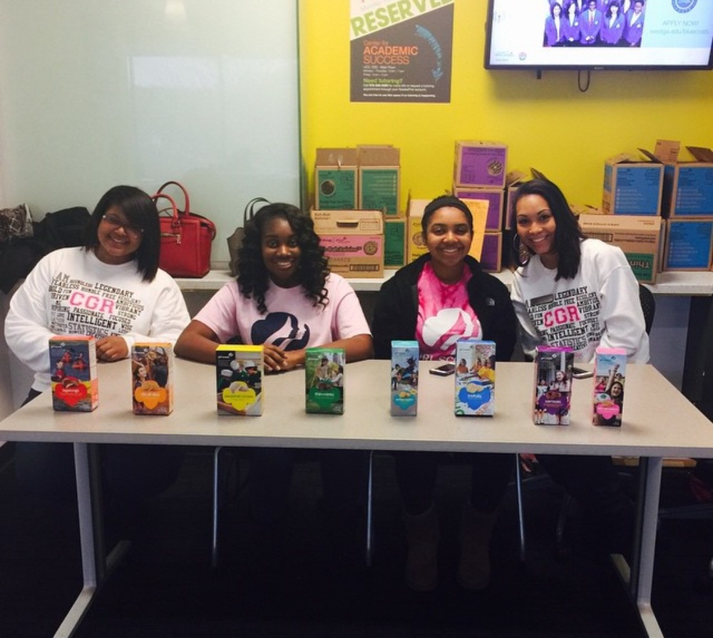 CGR-UWG Members helping out our local Girl Scouts!