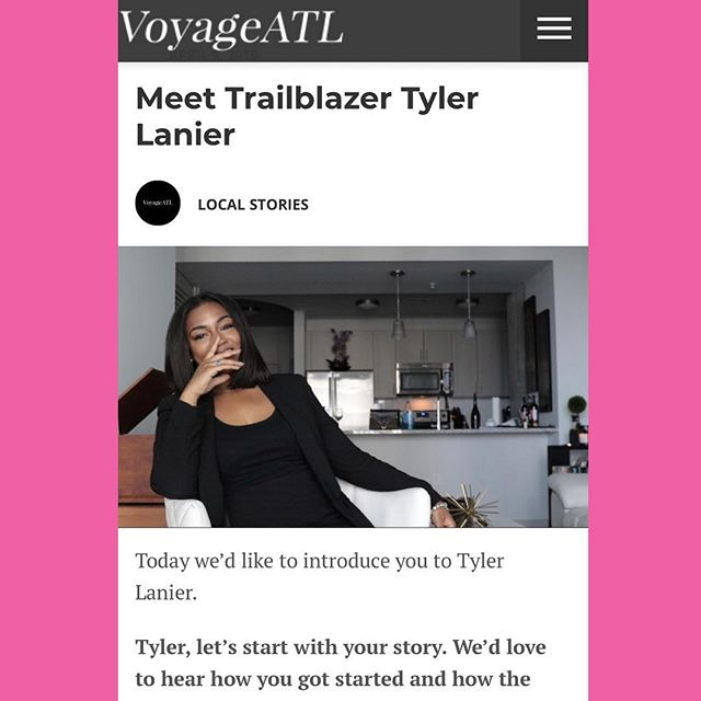 A special congratulations to our Co-Founder Tyler Lanier for her feature with VoyageATL. Tyler had the opportunity to talk about the inspiration and purpose of College Girls Rock, Inc. as well  as her personal growth journey! Read more at http://voyageatl.com/interview/meet-trailblazer-tyler-lanier/ ✨💕