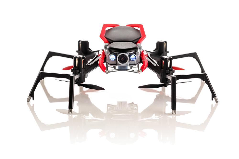 Spider Drone SE - front, lights WEB.jpg
