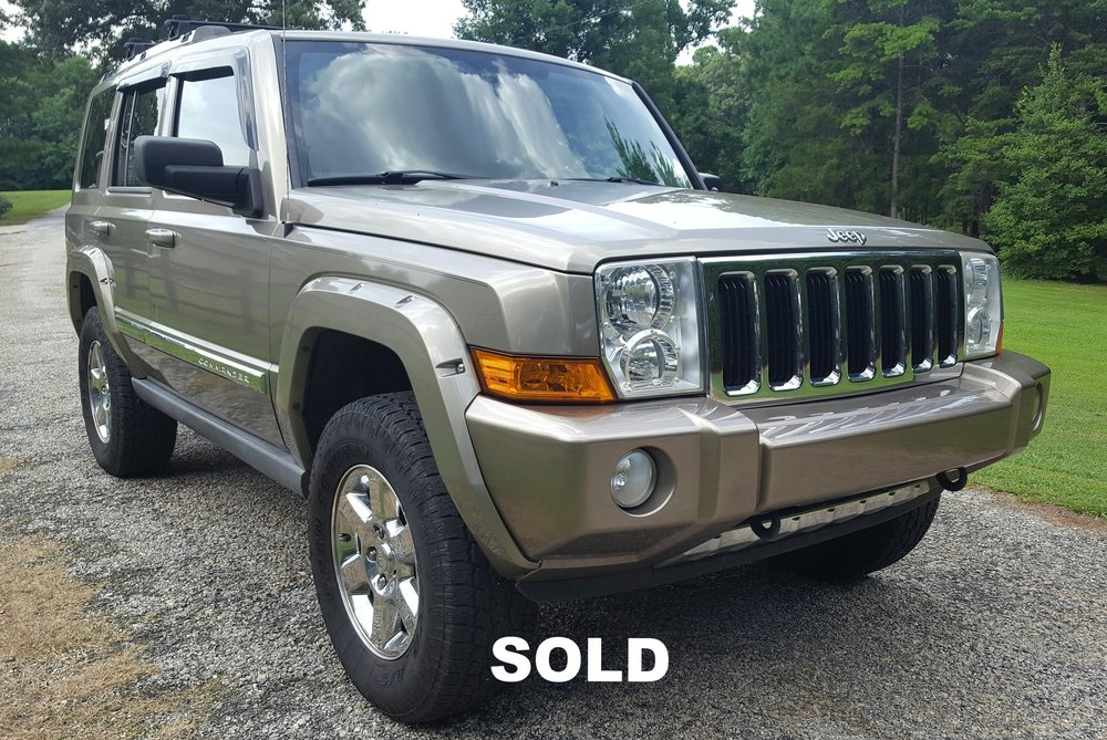 2006 jeep commander limited awd 5 7l hemi george motor company rh georgemotorco com 2006 jeep commander owners manual pdf 2006 jeep commander 4x4 owners manual