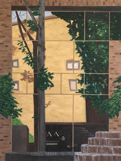 "Reflections 30"" x 40"" ©nancgordon2016"