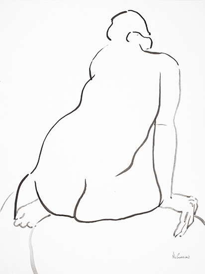 Seated Nude             ©nancgordon