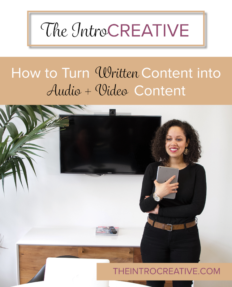 Turn Written Content to Video Blog Post.png