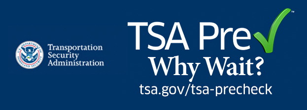 Yes, T.S.A. PreCheck is included too! Again, what are you waiting for?