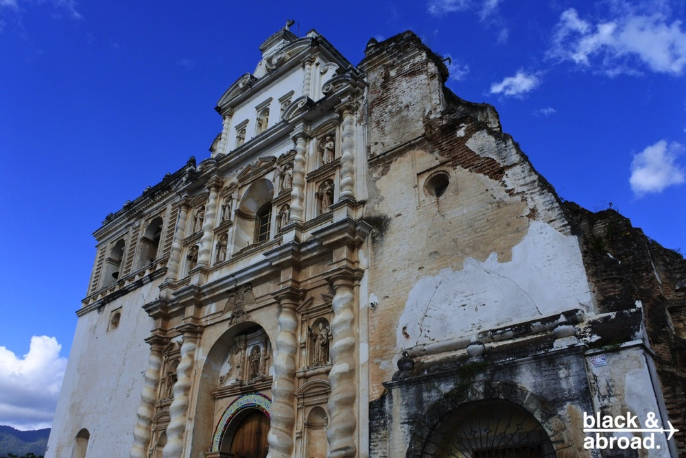 Iglesias De San Francisco El Grande is just one of the many beautiful structures in Antigua that fell victim to multiple earthquakes.