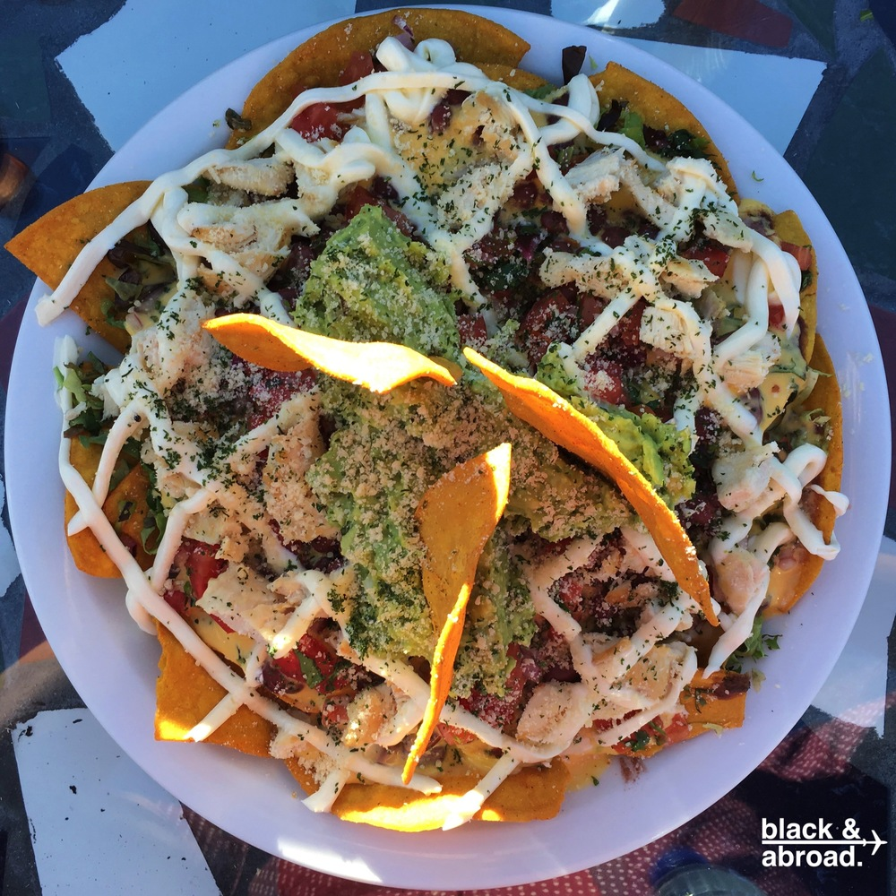 The nachos are a local favorite!  Don't leave the bar without getting an order!