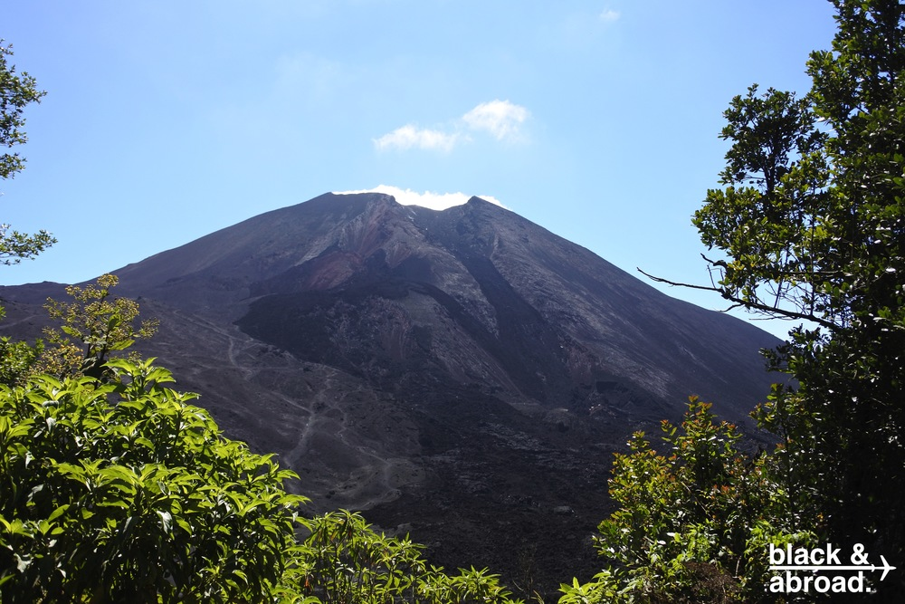 Pacaya is one of the active volcanoes in Guatemala.  It's the closest volcano to Guatemala City and Antigua.