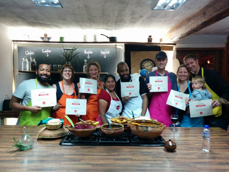 We all walked away certified in Guatemalan cooking!