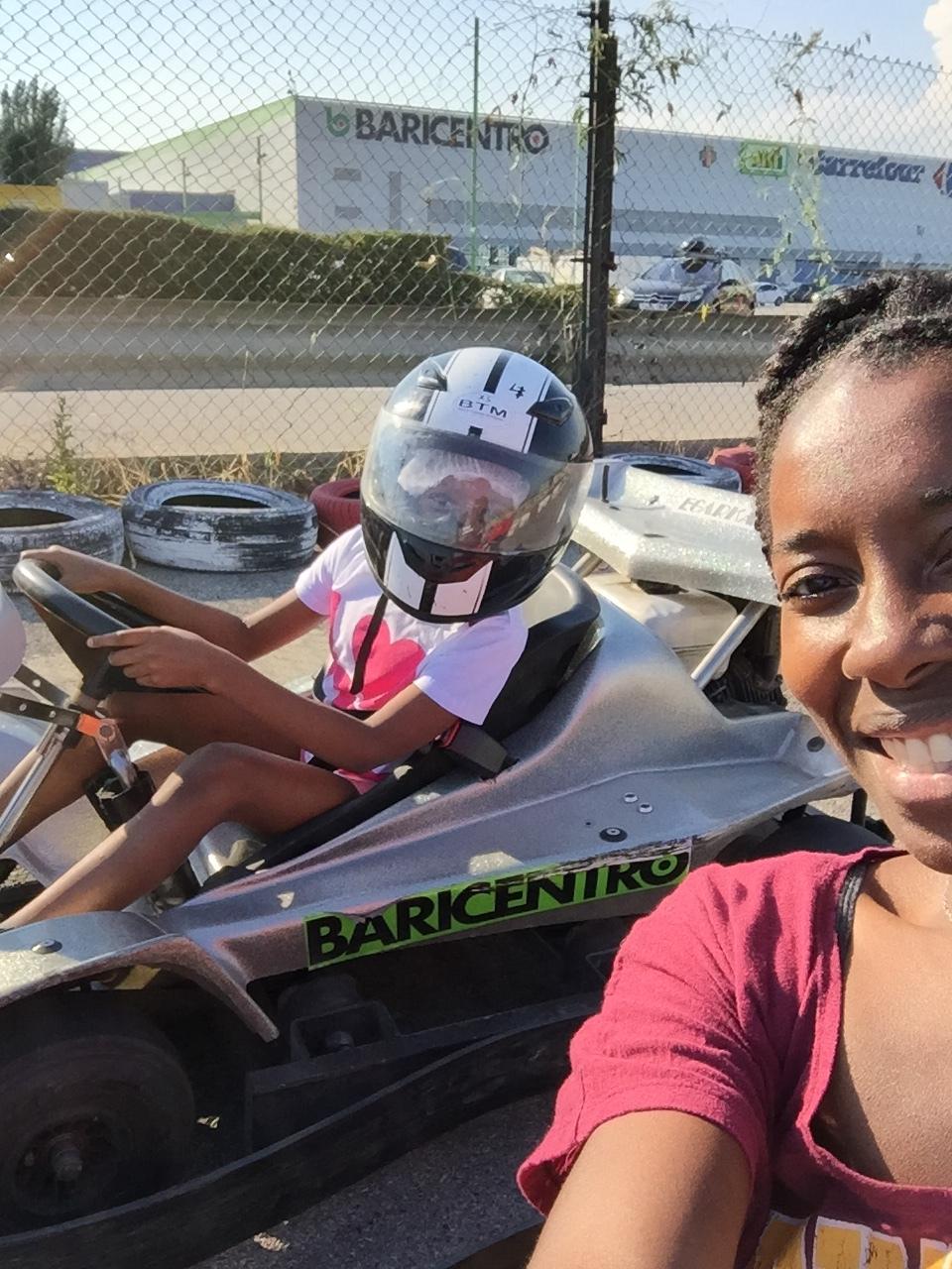 Go-karting in Barcelona!