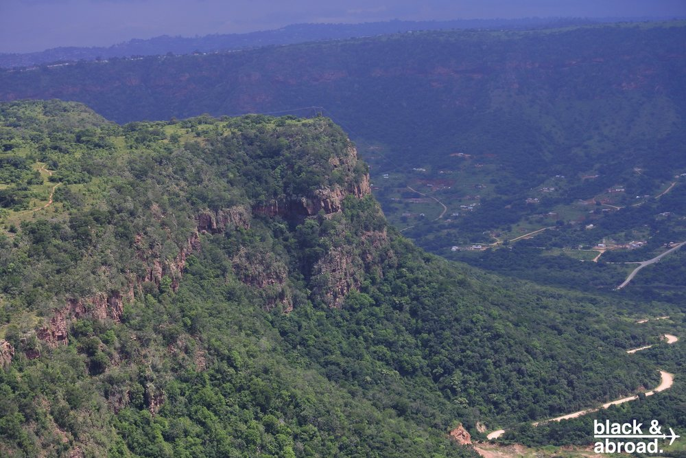 The valley surrounding Inanda
