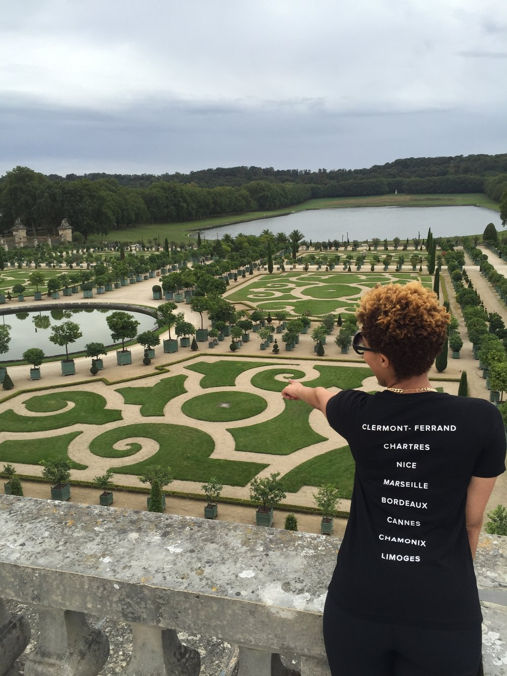 The gardens of Versailles!