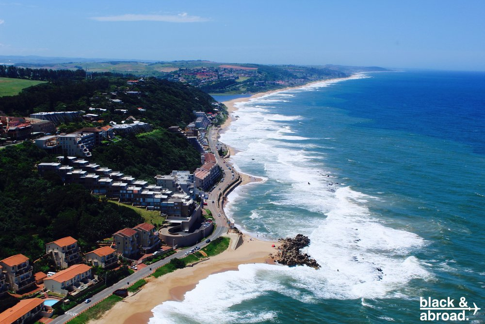 Durban coastline, South Africa