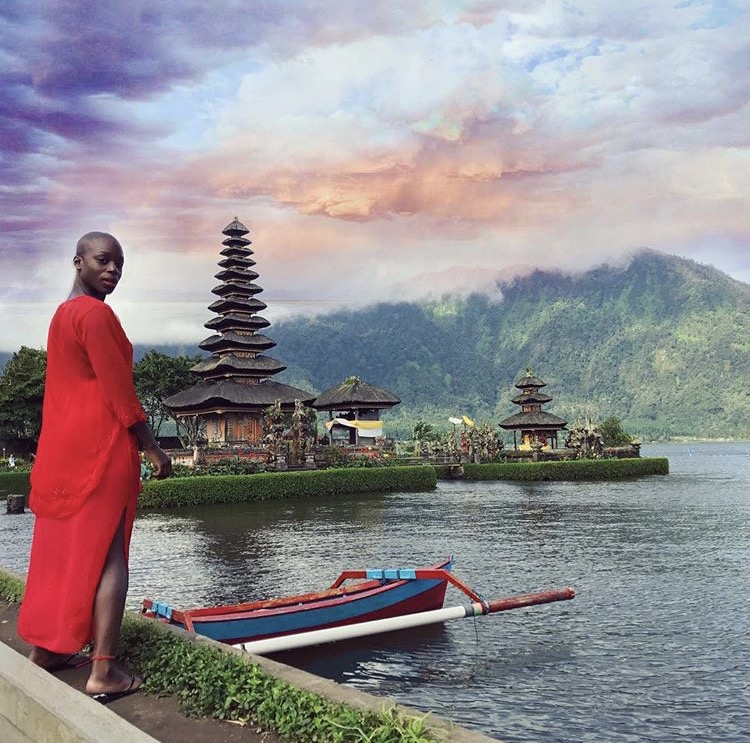 December, 2016 at the Pura Ulun Danu Bratan in Bali, Indonesia.