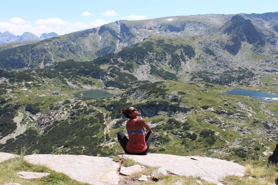 Me, affording travel in Bulgaria.