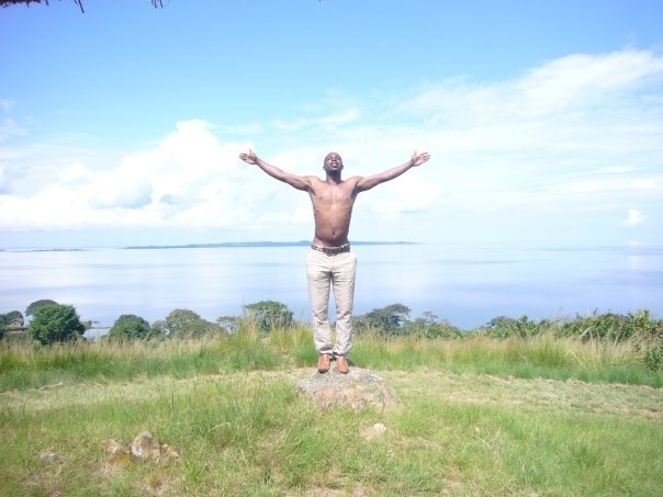 This is what it looks like to be free. Africa, I love you.  - Me in Bulago Island, Uganda