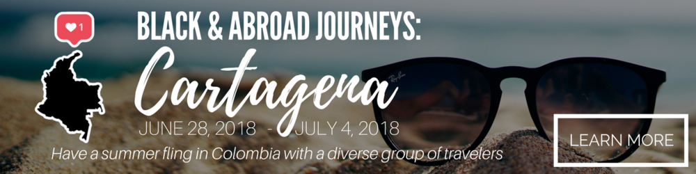 Black & Abroad is heading to Cartagena in June!  Join us for an unforgettable week!