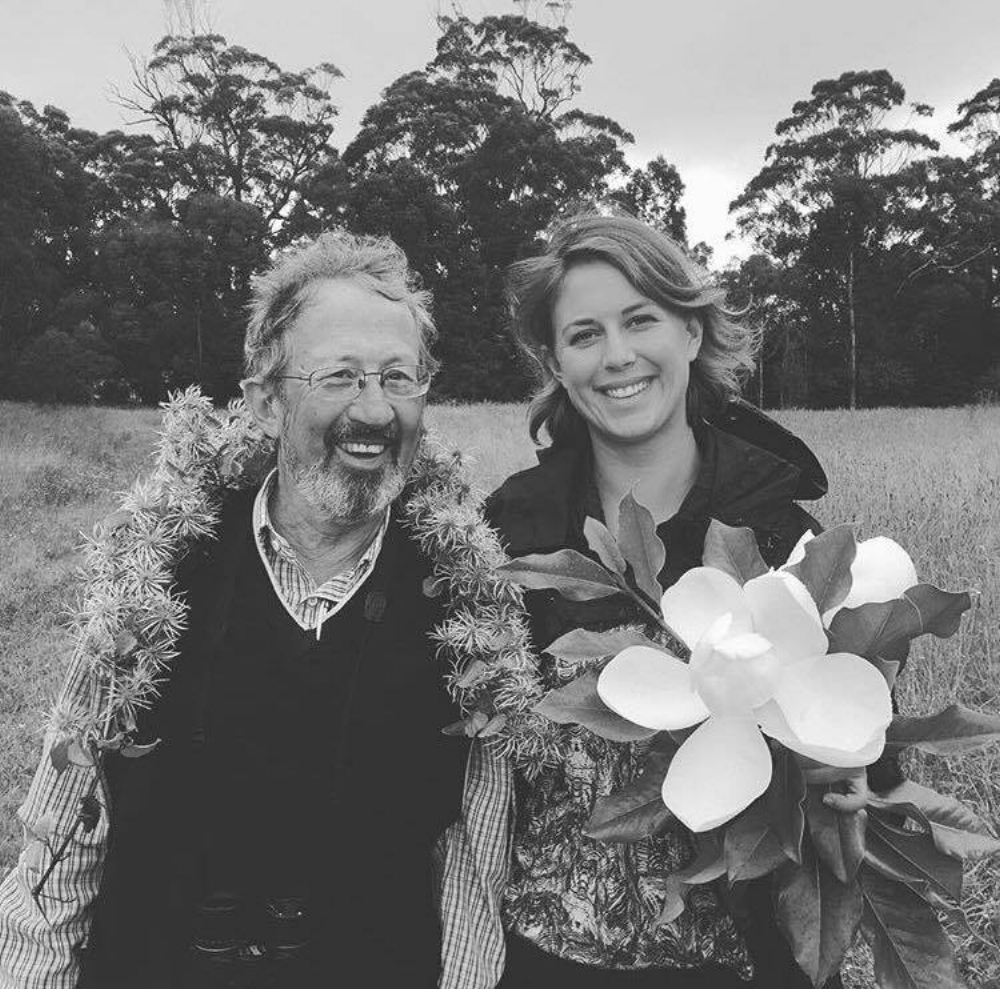 My father 'The Zealous Lover of Nature', and me.