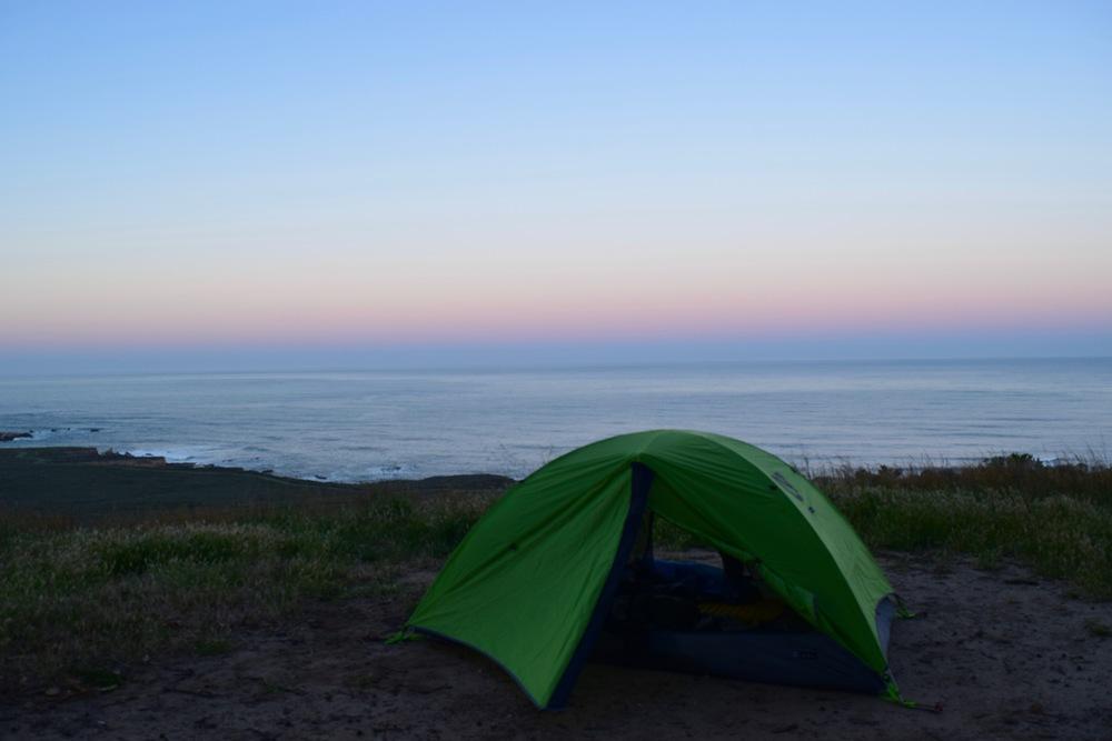 Sunrise on the coast.