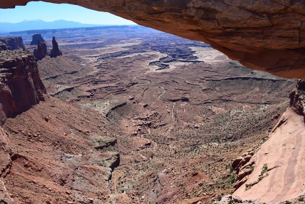Under Mesa Arch