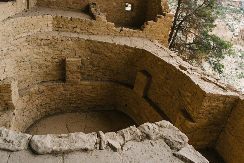 The first Kiva - this one is built correctly, but more on that below.