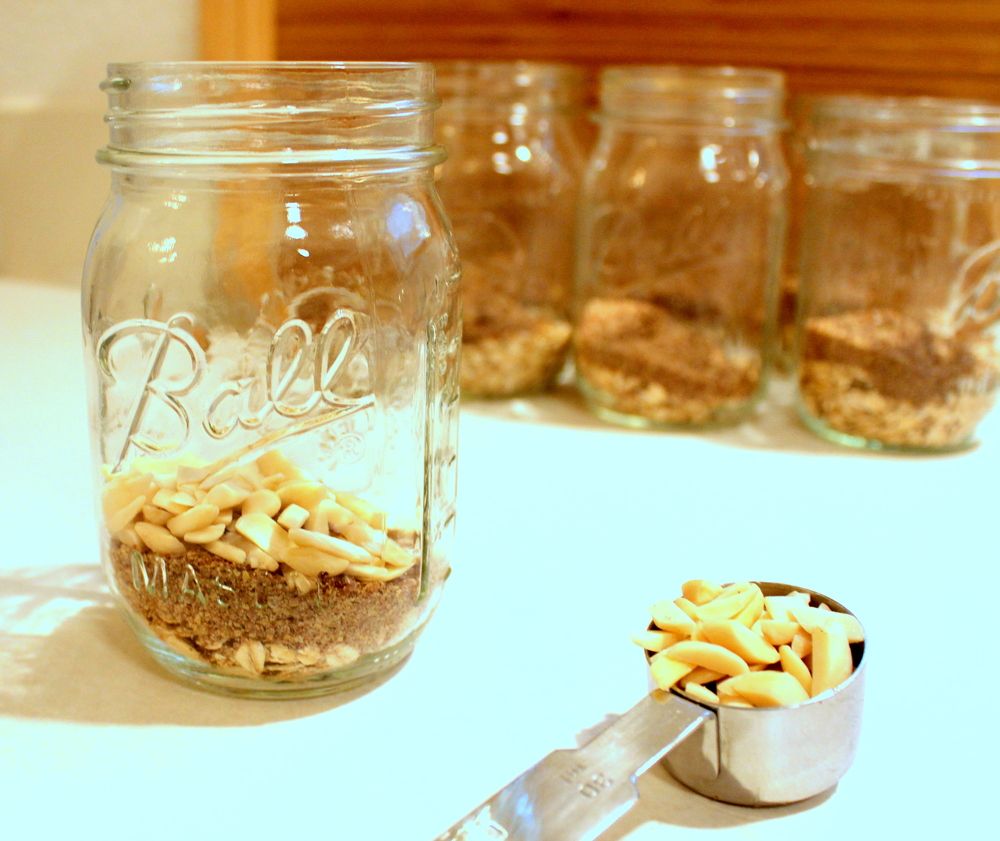 Overnight Oatmeal Jars from Peas and Hoppiness