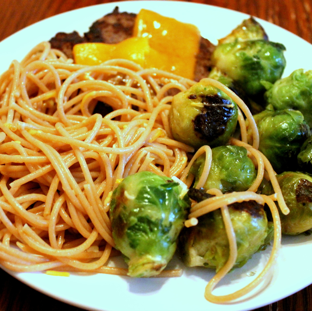 Easy Sauteed Brussels Sprouts from Peas and Hoppiness