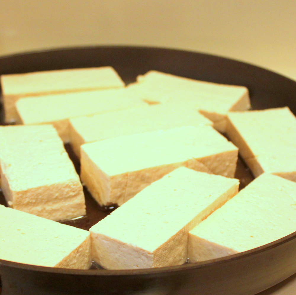 Tofu - soy is a complete protein