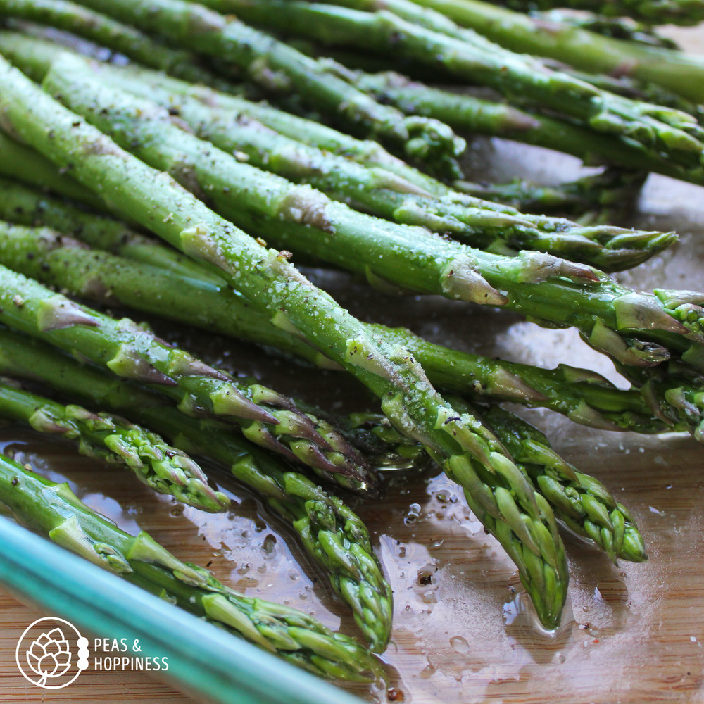 Roasted Asparagus from Peas and Hoppiness - www.peasandhoppiness.com