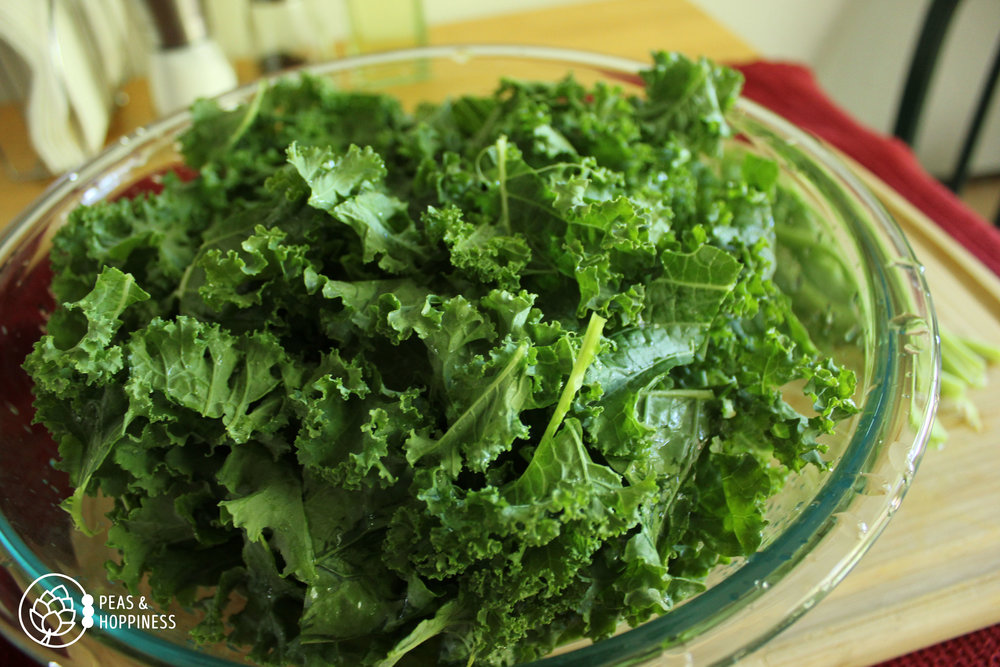 Kale - Super Food Fall Salad from Peas and Hoppiness - www.peasandhoppiness.com