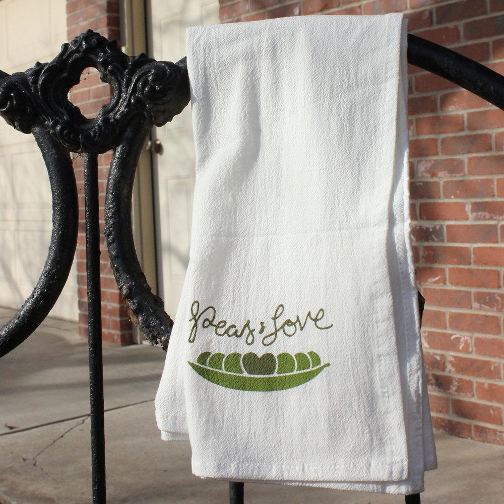 Kitchen Tea Towels — Peas & Hoppiness