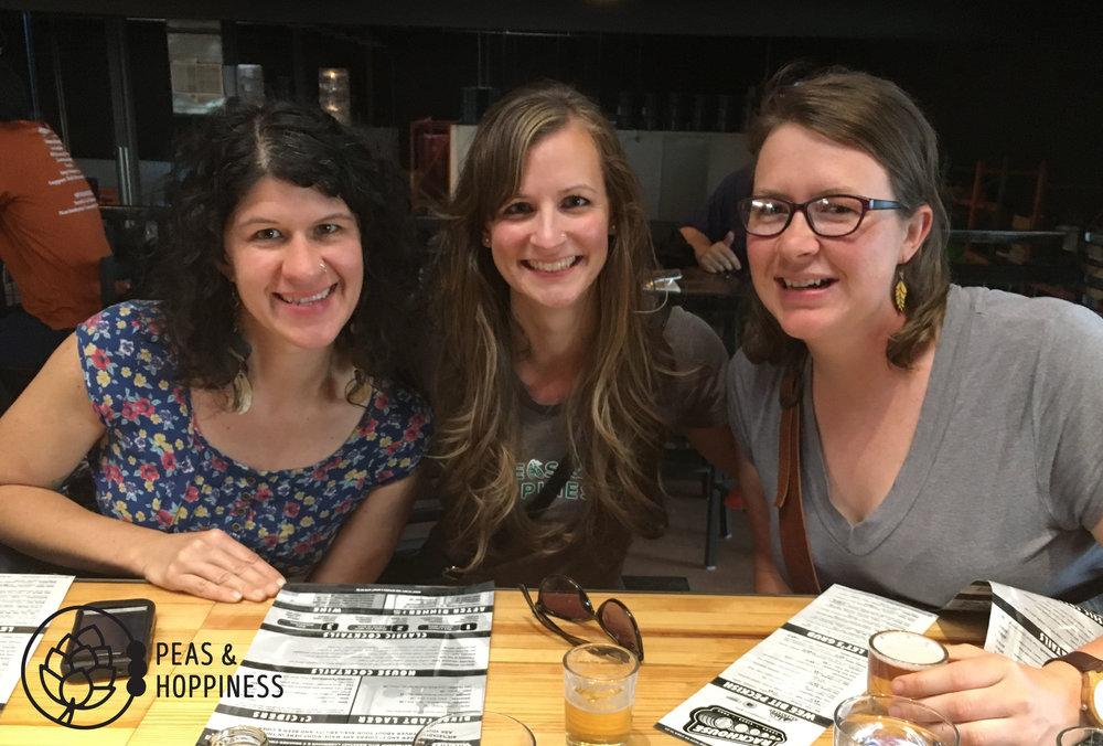 When dear friends come to visit, you go taste cider!