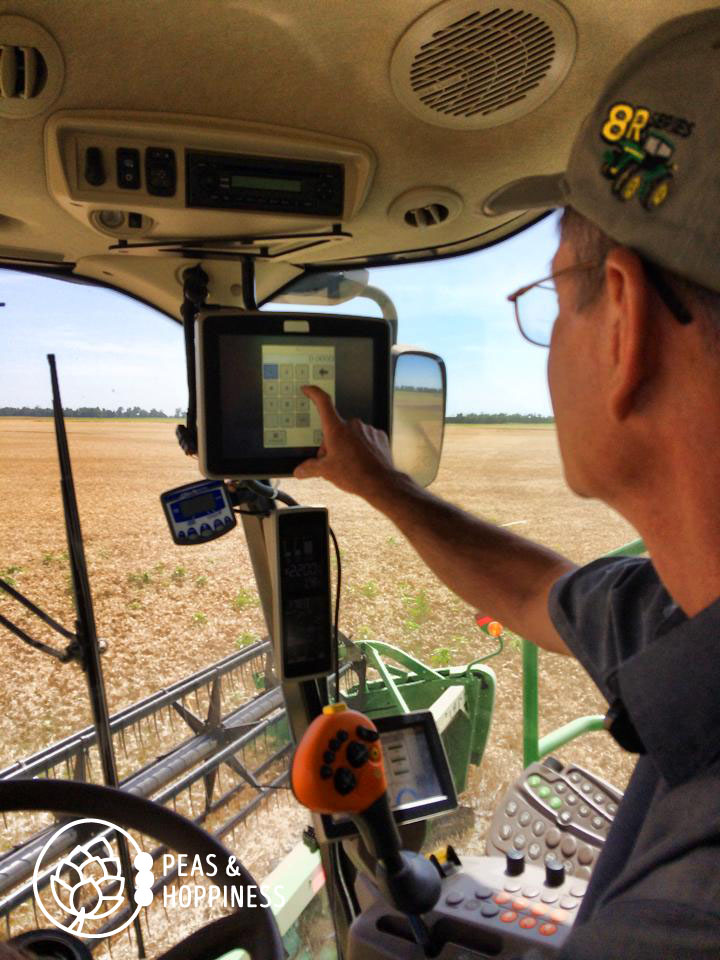 Precision agriculture in large-scale farming