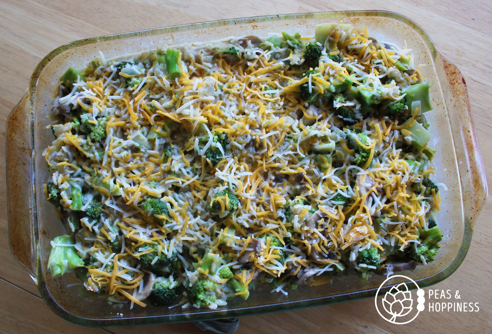 All-Natural Broccoli Rice Casserole from Peas and Hoppiness - www.peasandhoppiness.com
