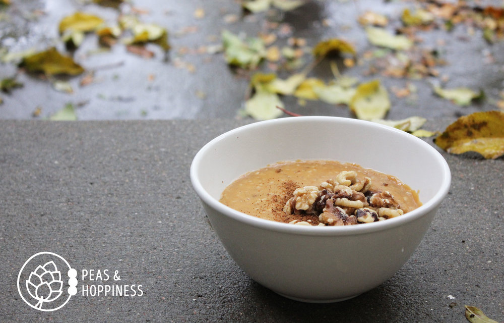 Pumpkin Porridge from Peas and Hoppiness - www.peasandhoppiness.com