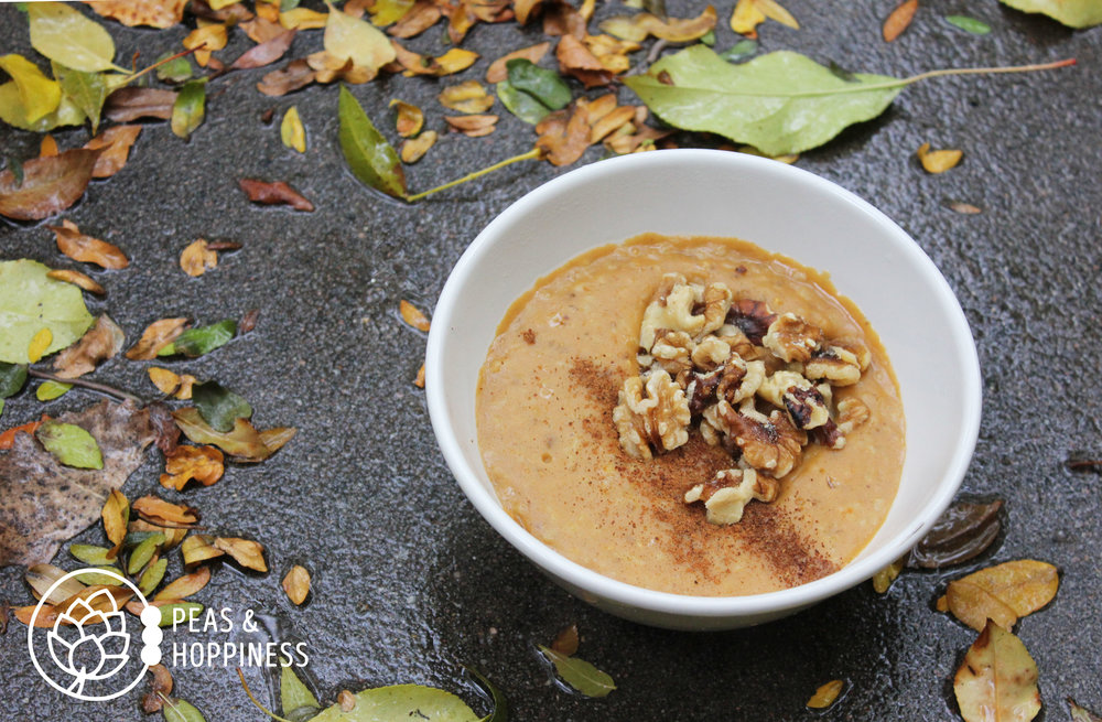 A delicious, healthier alternative to cinnamon rolls: Pumpkin Porridge
