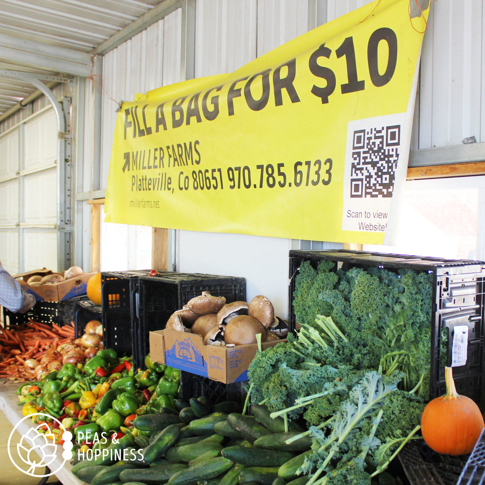 Produce at Miller Farms