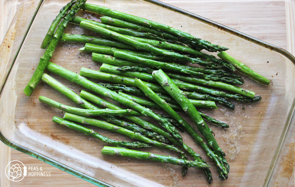Roasted Asparagus . Who said low-carb isn't delicious?