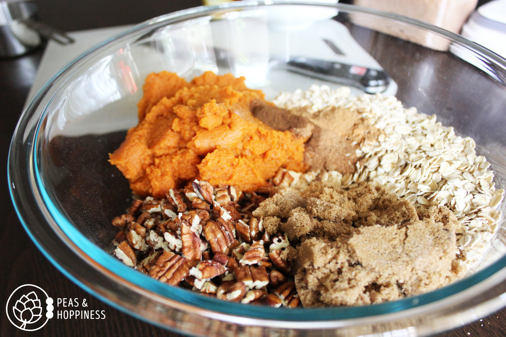 Gluten Free Pumpkin Bars from Peas and Hoppiness - www.peasandhoppiness.com