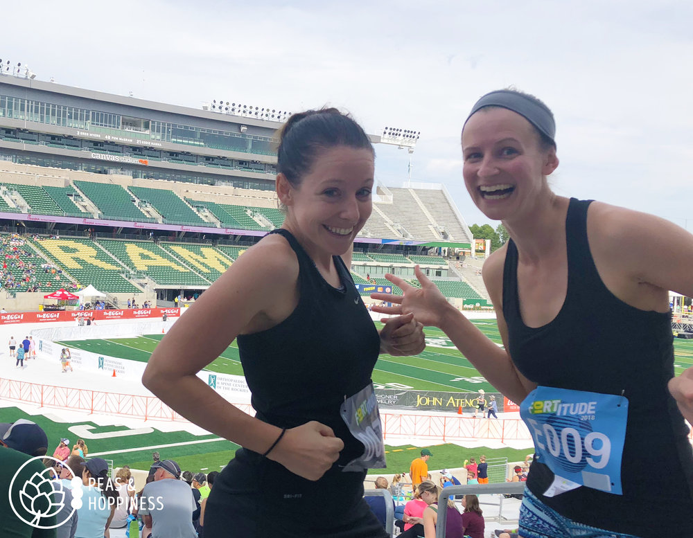 She makes time for me and I make time for her. It's what you have to do to create lasting, quality friendships. (She also makes me run, but that's another story for another day!)