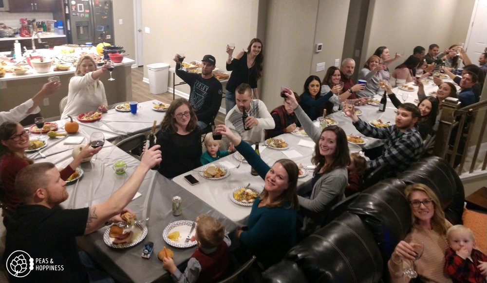 Friendsgiving 2018 in our new home!