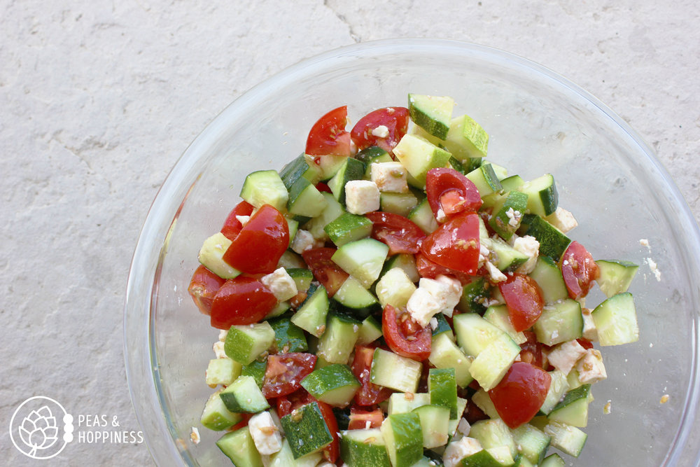 Cucumber-Tomato Summer Salad