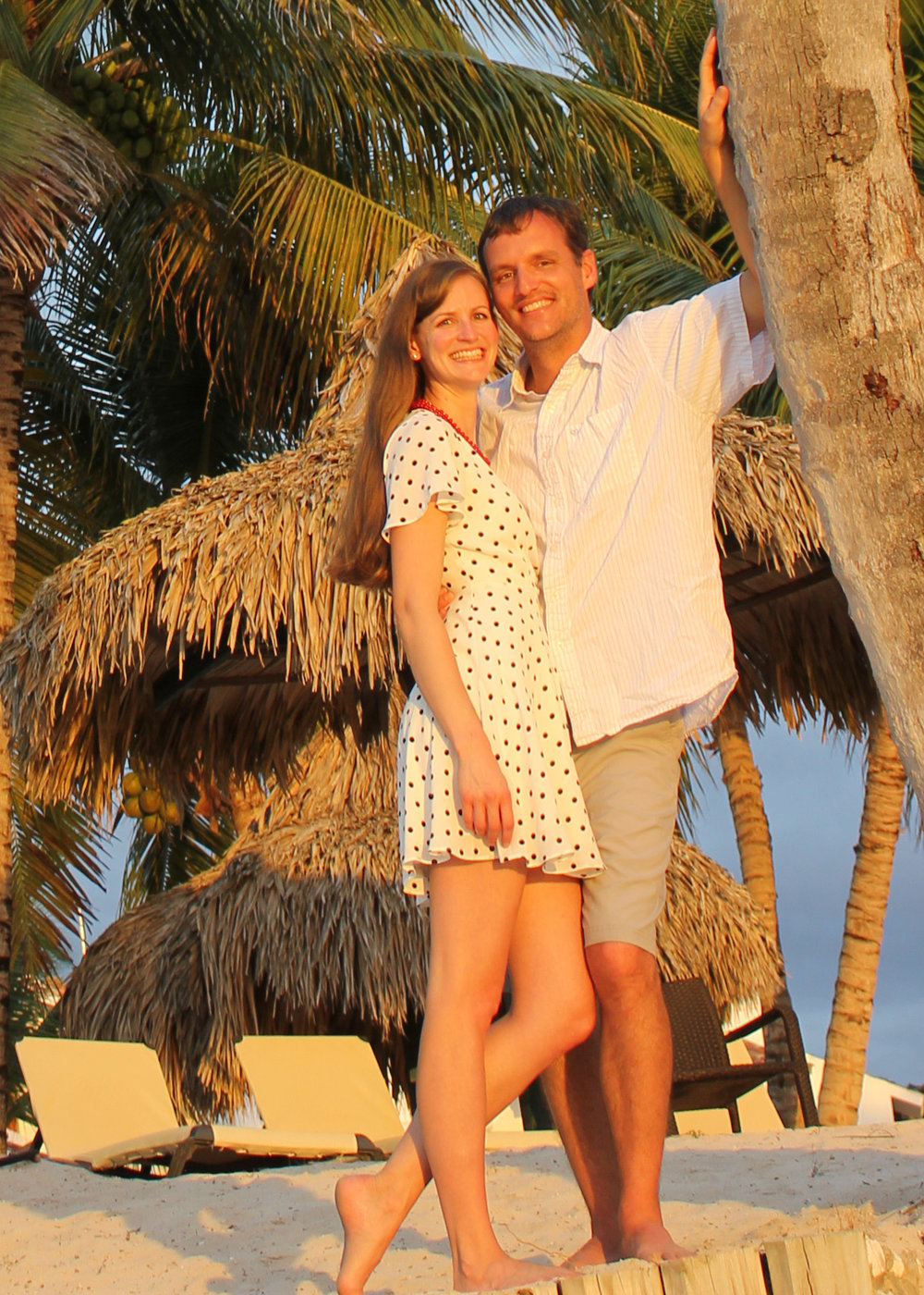 Engagement photos in the Dominican Republic by Shannon Peterson