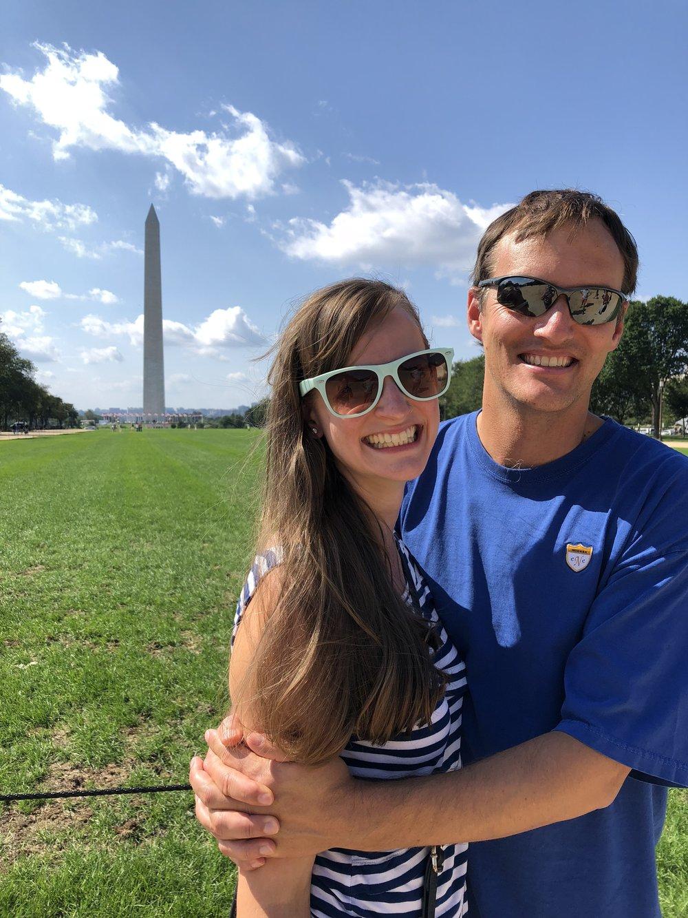 Washington DC trip, September 2018
